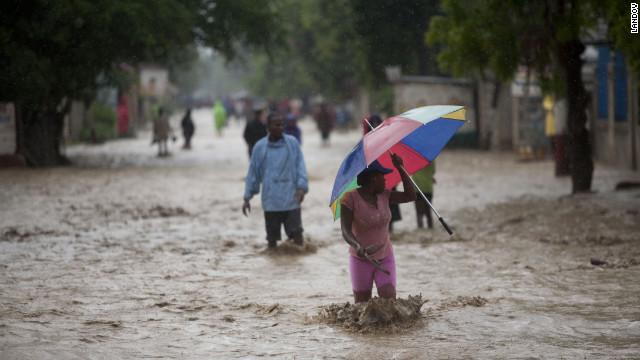 hurricane sand haiti
