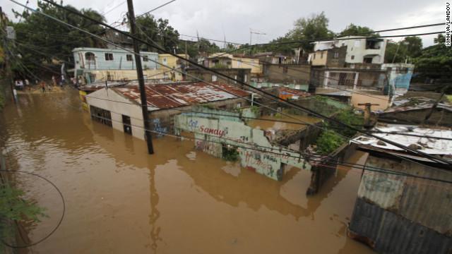 hurricane sandy dominican
