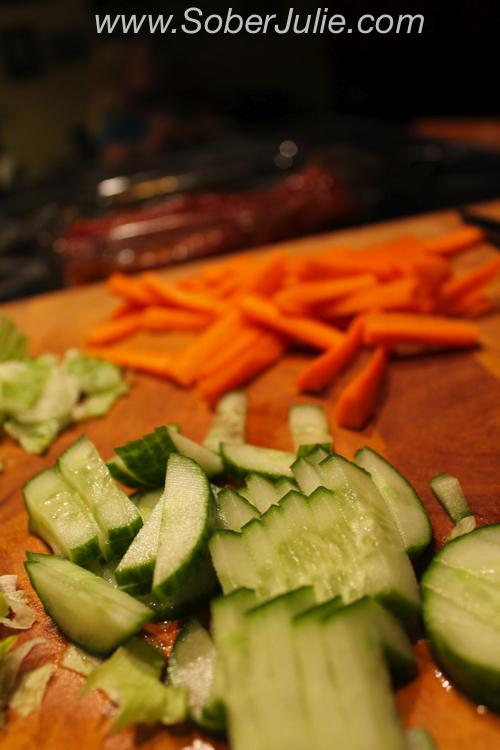 VH Sauce Recipe Vegetables