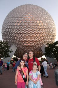 Epcot Family Photo