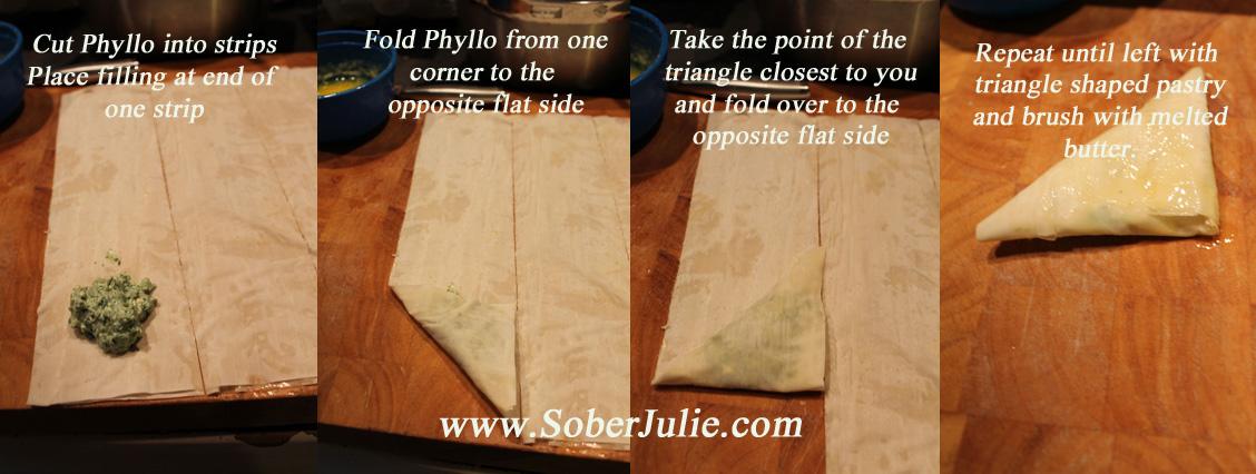 Folding Spanokapita