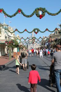 Magic Kingdom Christmas Main Street