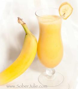 banana orange mocktail
