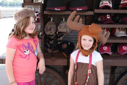 Epcot Canada hats