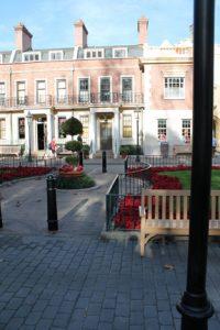 Epcot UK Pavillion Square