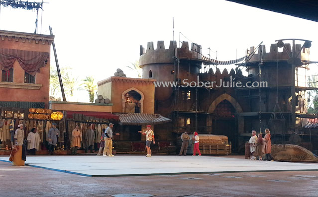 Hollywood Studios Indiana Jones Scene