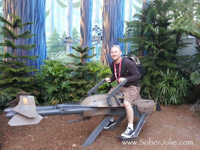 Hollywood Studios Star Tours Photo