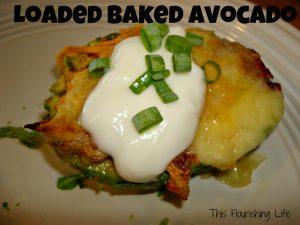 Healthy Recipes Baked Avacado