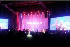 Blackberry Flo Rida Party