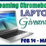 Streaming ChromeBook Laptop Giveaway #ChromeBookEvent
