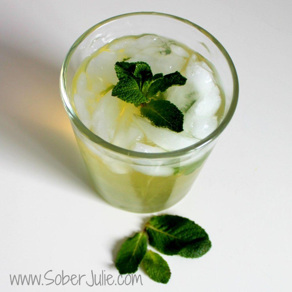 Mojito Mocktail Sober Julie