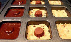 Peanut Butter Brownie Cookie Pan CU WM