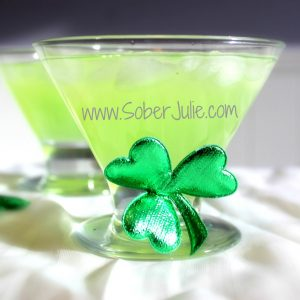 St Patrick's Day Surprise Mocktail