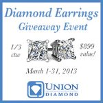 Diamond Earrings Giveaway Event – Value $899 US/CAN