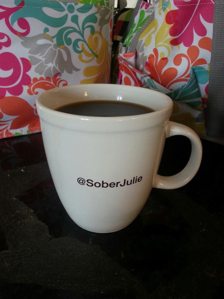 cup of coffee brewed by Keurig Brewer