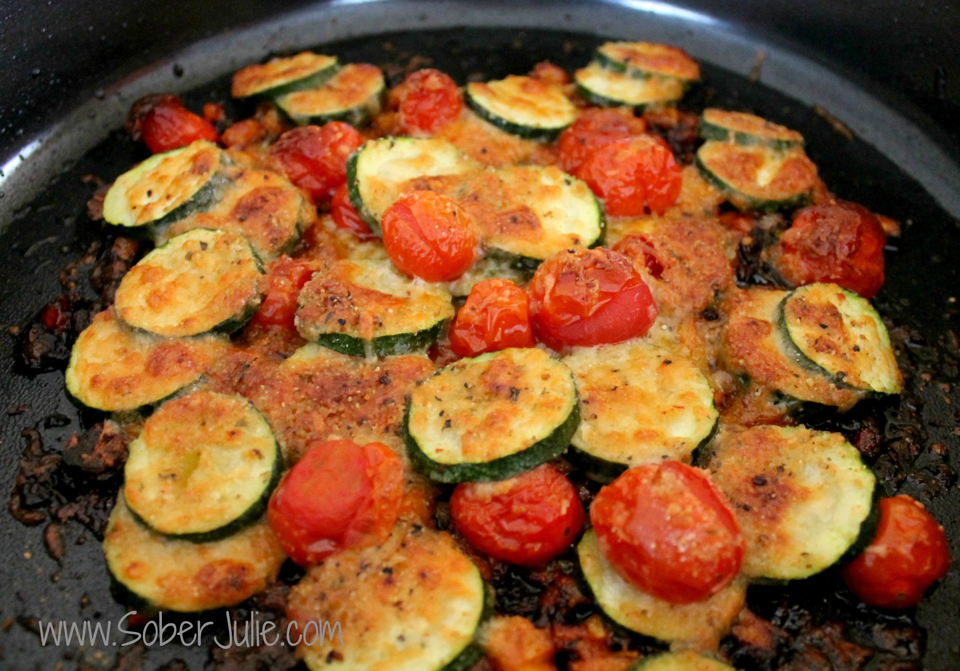 Zucchini Gratin Baked