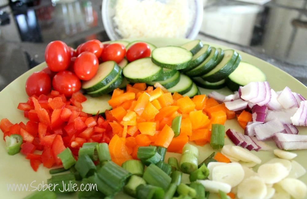 Zucchini Gratin Ingredients