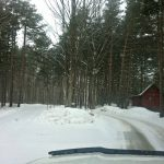 scandinave spa driveway