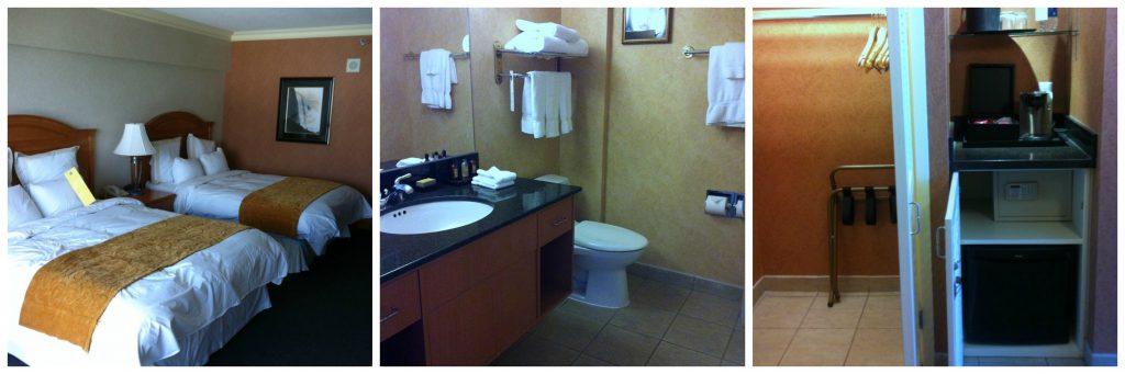 CAA Marriott room
