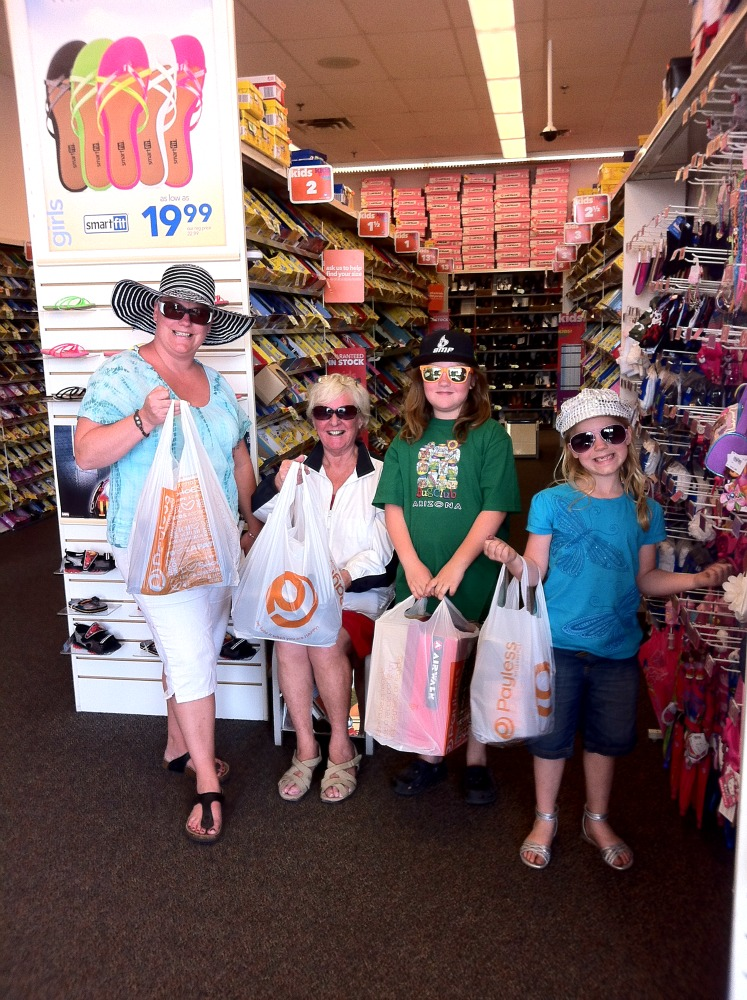CAA Membership shopping challenge group photo