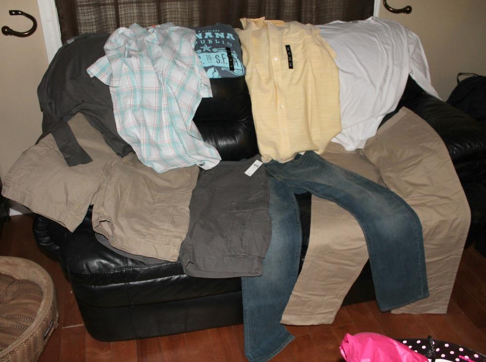 CAA partner GAP mens clothing