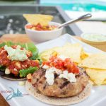 Summer Chicken Burgers Recipe & Giveaway #BreakUpWithGroundBeef