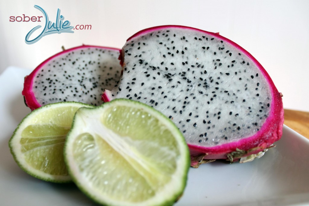 Dragon Fruit Smoothie fruits