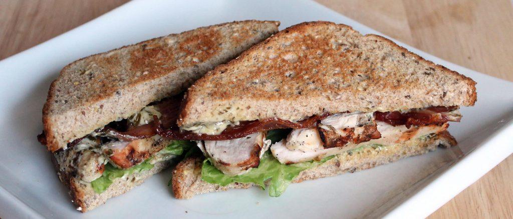 Maple Leaf Bacon Portions Sandwich