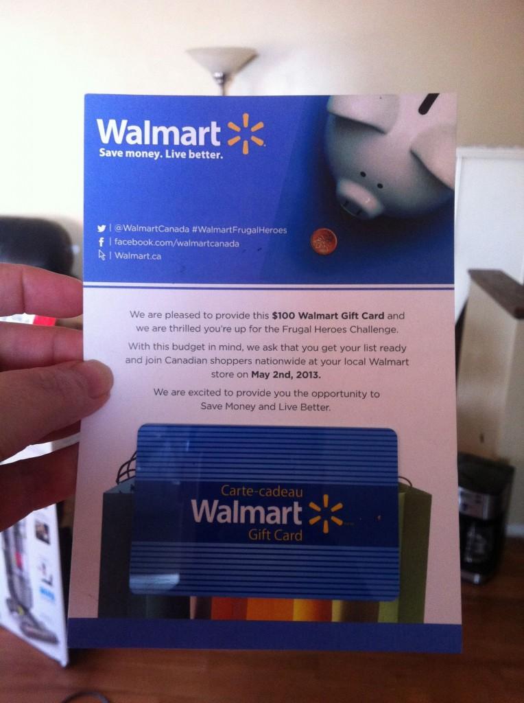 Walmart Frugal Heroes