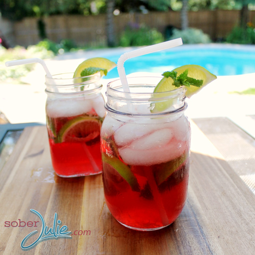 Pomegranate Mojito Mocktial WM