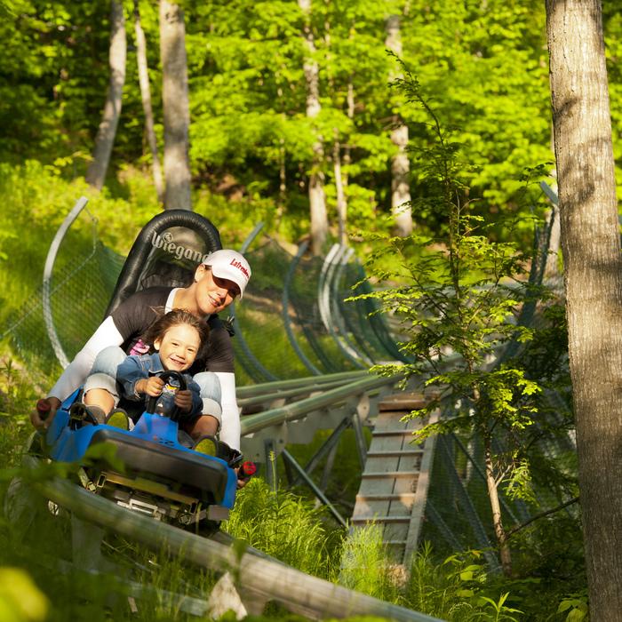Ridge Runner Mountain Coaster