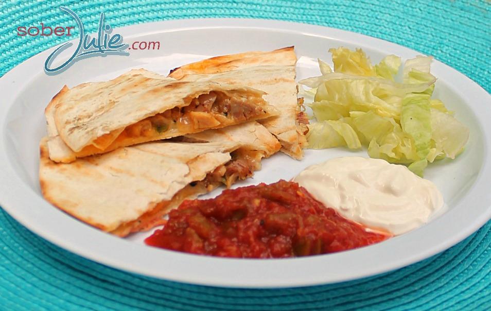 easy chicken recipe quesadilla WM