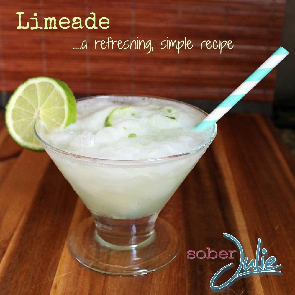 Limeade Drink Recipe Square WM