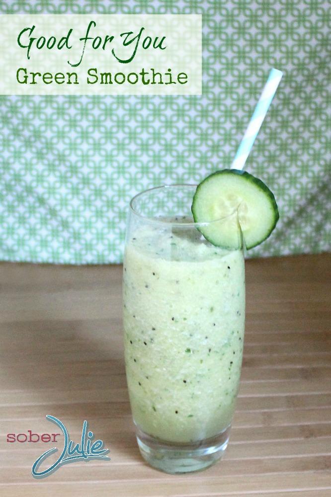 green smoothie recipe WM