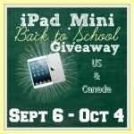 WIN an iPad Mini for Back To School #iPadMiniBTS