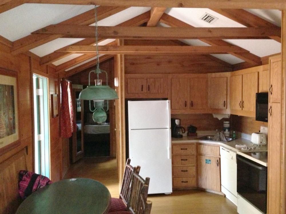 cabin at fort wilderness Kitchen