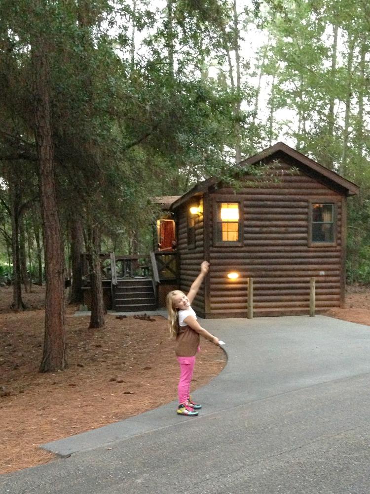 Disney Fort Wilderness Cabin Outside
