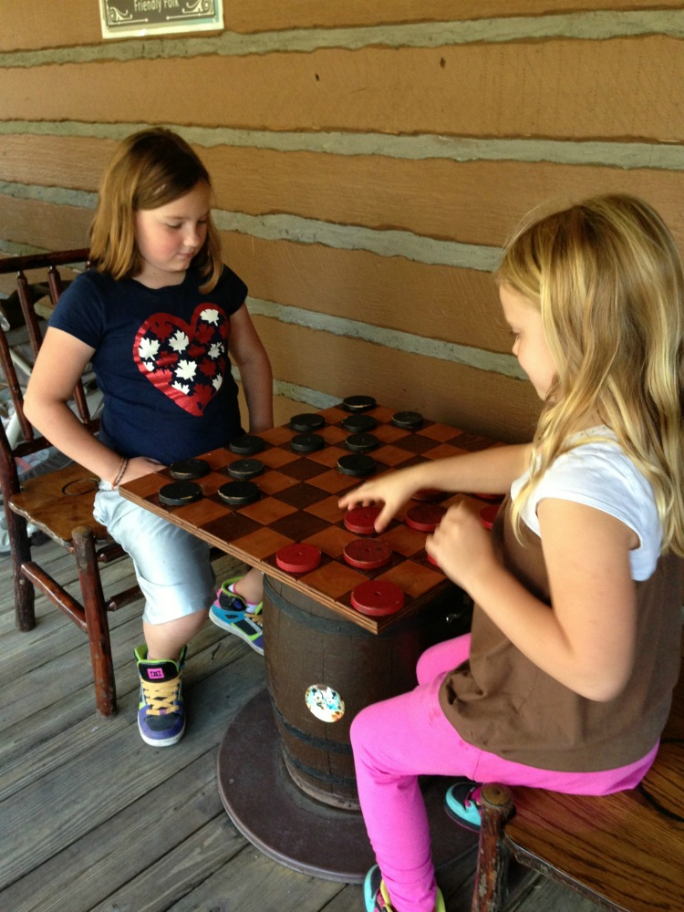 Disney Fort Wilderness Chess