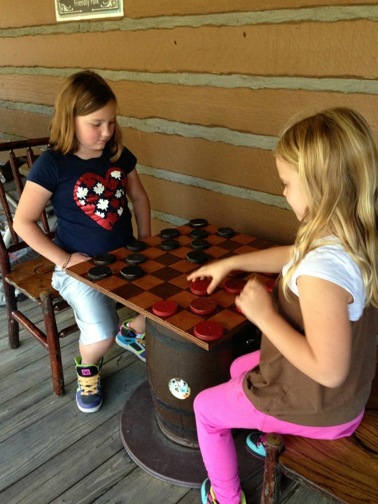 Disney Fort Wilderness Chess