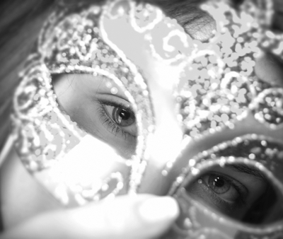 mask of alcoholism