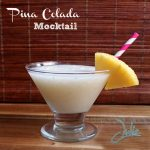 Banana Pina Colada Mocktail Recipe #YouMexiCan