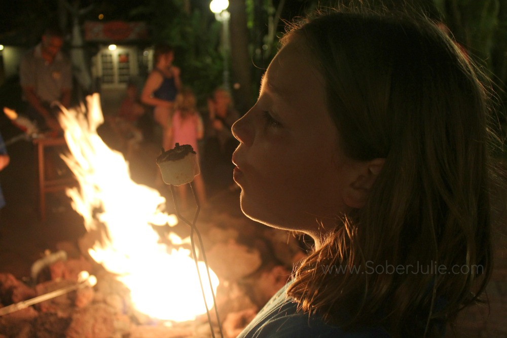 Tradewinds Island Grand fire