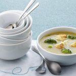 broccoli, potato & chicken soup