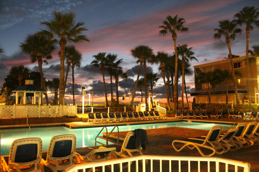 tradewinds beach side pool