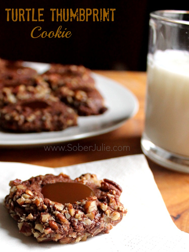 Turtle Thumbprint Cookie Recipe
