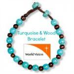 Turquoise & Wood Bracelet – Holiday Gift Guide #SJHolidayGiftGuide
