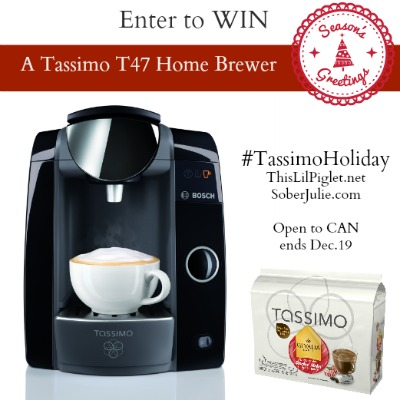Tassimo Giveaway #TassimoHoliday