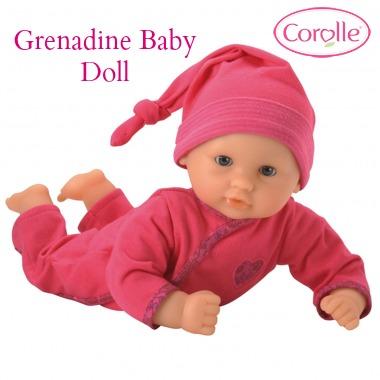 grenadine baby doll