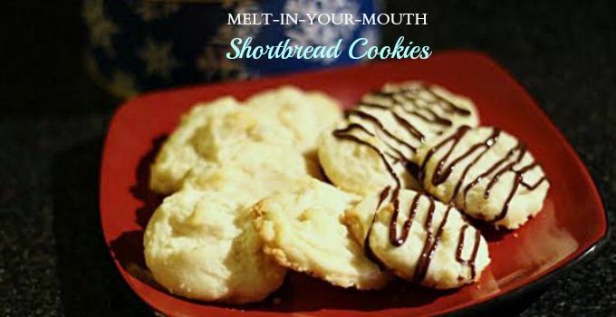 shortbread cookies slider