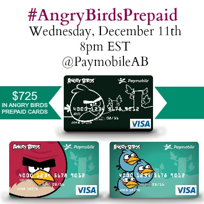 ANGRY BIRDS PREPAID twitter party